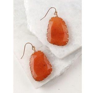 Carnelian Natural Stone Boho Earrings